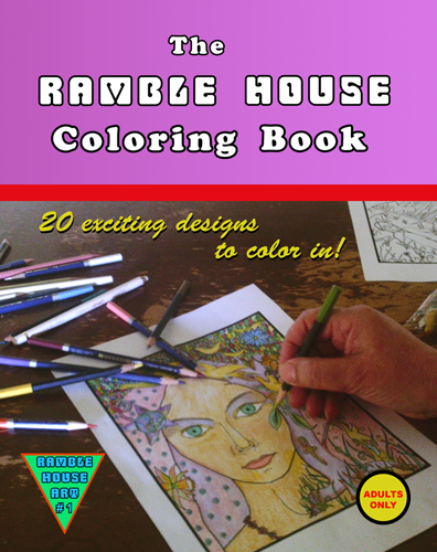 Ramble House Coloring Book